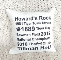 College Tribute Pillow