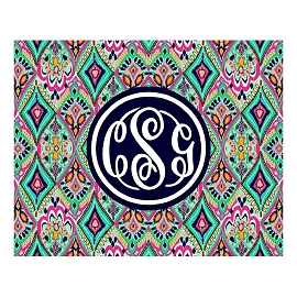 Large Lilly Monogram Cutting Board